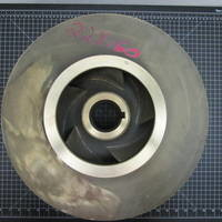 Image of this particular Bronze  Impeller to fit Goulds 3410L 8x10-17