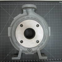 Image of this particular Hastelloy C Casing to fit Durco Mark 3 Group 2 3x1.5-10A