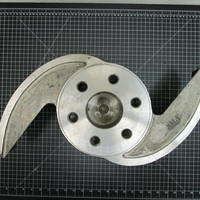 Image of this particular 316SS Impeller to fit Goulds 3135M 8Sx16-20