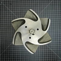 Image of this particular Titanium Impeller to fit Durco Group 2 4x3-10H