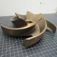 Image of this particular Bronze Impeller to fit Goulds 3171 M 4x6-11