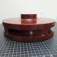 Image of this particular Urethane Impeller to fit Goulds LB 4x6-14