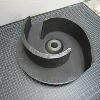 Image of this particular Cast Iron Impeller to fit Gorman-Rupp T8A3-B and T8A60-B
