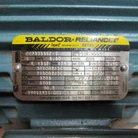 Image of this particular Baldor Reliance Super-E Severe Duty Frame 184T 5 HP 1750 RPM 841XL Electric Motor