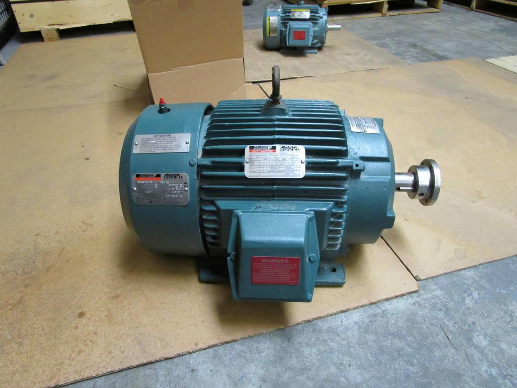 Baldor reliance duty master frame 254t 15 hp 1765 rpm for Baldor 15 hp motor
