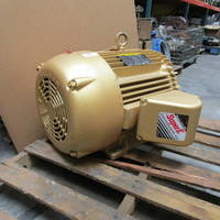 Image of this particular Baldor Reliance Super-E Frame 324T 40 HP 1775 RPM Electric Motor