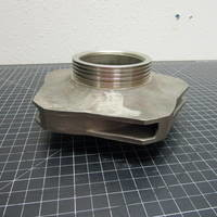Image of this particular 316SS Impeller to fit Worthington D1011 Frame 3 3x2-8