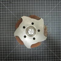 Image of this particular 316SS Impeller to fit Durco Mark 2 Group 2 2x1-10