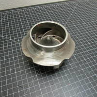 Image of this particular 316SS Impeller to fit Durco Group 2 3x2-7