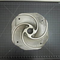 Image of this particular 316SS Impeller to fit Worthington 6FRBH142