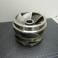 Image of this particular 316SS Impeller with Rings to fit Goulds 3405 L 12x14-14DV