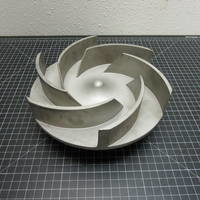 Image of this particular 316SS Impeller to fit Ingersoll-Rand HOC 2 Group 2 6x4-10