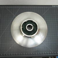 Image of this particular 316SS Impeller to fit Allis Chalmers 7000 Custom 7 8x6-17