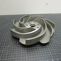 Image of this particular 316SS Impeller to fit Worthington D1011 Frame 3 6x4-13